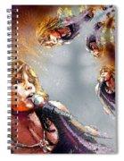 Tyler Mania Spiral Notebook