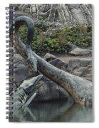 Tylosaurus And Elasmosaurus Spiral Notebook