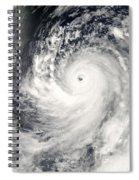 Typhoon Man-yi Spiral Notebook