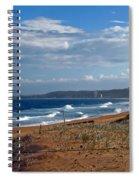 Typical Australian Beach Spiral Notebook