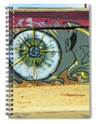Typical Urban Fence 3 Spiral Notebook