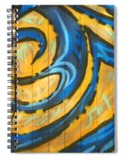 Typical Urban Fence Spiral Notebook