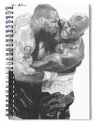 Tyson Vs Holyfield Spiral Notebook