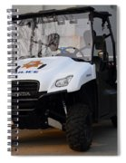 Uc Berkeley Campus Police Buggy  . 7d10184 Spiral Notebook