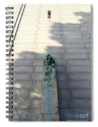 Uc Berkeley . Sather Tower . The Campanile . Clock Tower . Bust Of Abraham Lincoln . 7d10070 Spiral Notebook