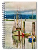 Ucluelet Harbour Hdr Spiral Notebook