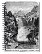 Uganda: Murchison Falls Spiral Notebook