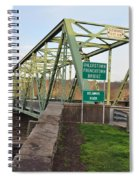 Uhlerstown Frenchtown Bridge Spiral Notebook
