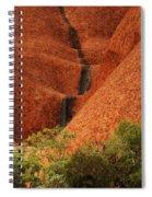 Uluru Australia 4 Spiral Notebook