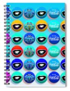 Uncle Sams Buttons Spiral Notebook