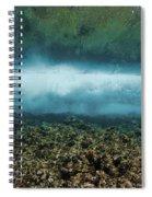 Under An Ocean Wave Spiral Notebook