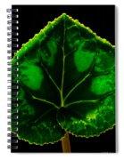 Under Leaf Spiral Notebook