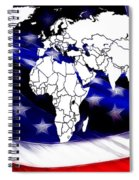 Under Protection Map Spiral Notebook