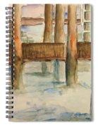 Under The Docks Spiral Notebook