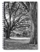 Under The Oaks Spiral Notebook