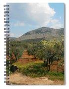 Under The Tuscan Skies Spiral Notebook