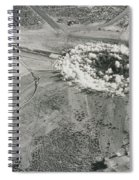 Underground Atomic Bomb Test Spiral Notebook