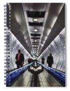 Underground Network Spiral Notebook