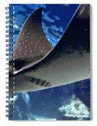 Underwater Flight Spiral Notebook