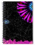 Unexpected Visitor Spiral Notebook