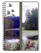 Unicorn Lake - Cross Your Eyes And Focus On The Middle Image Spiral Notebook