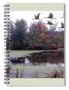 Unicorn Lake - Geese Spiral Notebook