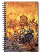 Unidentified Roman Attack Spiral Notebook