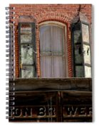 Union Brewery Virginia City Nv Spiral Notebook