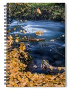 Union Creek In Autumn Spiral Notebook