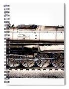 Union Pacific 4-8-8-4 Steam Engine Big Boy 4005 Spiral Notebook