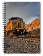 Union Pacific 6807 Spiral Notebook