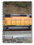 Union Pacific Locomotive . 7d10569 Spiral Notebook