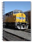 Union Pacific Locomotive Trains . 5d18821 Spiral Notebook