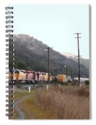 Union Pacific Locomotive Trains . 7d10558 Spiral Notebook