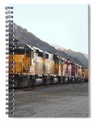 Union Pacific Locomotive Trains . 7d10561 Spiral Notebook