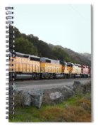 Union Pacific Locomotive Trains . 7d10564 Spiral Notebook
