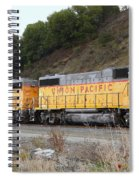 Union Pacific Locomotive Trains . 7d10572 Spiral Notebook