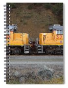 Union Pacific Locomotive Trains . 7d10573 Spiral Notebook