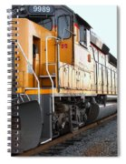 Union Pacific Locomotive Trains . 7d10588 Spiral Notebook