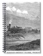 Union Pacific Station, 1869 Spiral Notebook