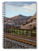 Union Pacific Tracks Spiral Notebook