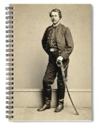 Union Soldier, 1860s Spiral Notebook