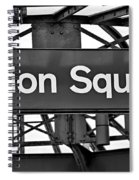 Union Square  Spiral Notebook