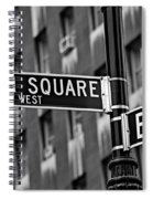 Union Square West Spiral Notebook