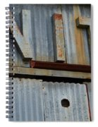 Unite Weathered Sign Spiral Notebook