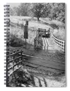 Unmanned Railway Crossing At Hope Spiral Notebook