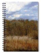 Unspoiled Prairie Landscape Spiral Notebook