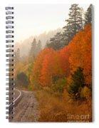 Up Around The Bend Spiral Notebook