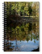 Up Down Beauty All Around Spiral Notebook