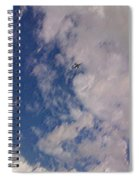 Up In The Clouds 3 Spiral Notebook